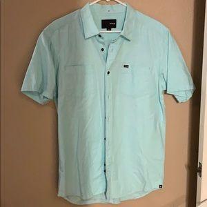 Hurley men's large button down shirt